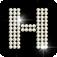 Diamond letter H
